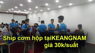Giao cơm hộp tại KeangNam, nhận ship cơm văn phòng giá 30k tại KeangNam