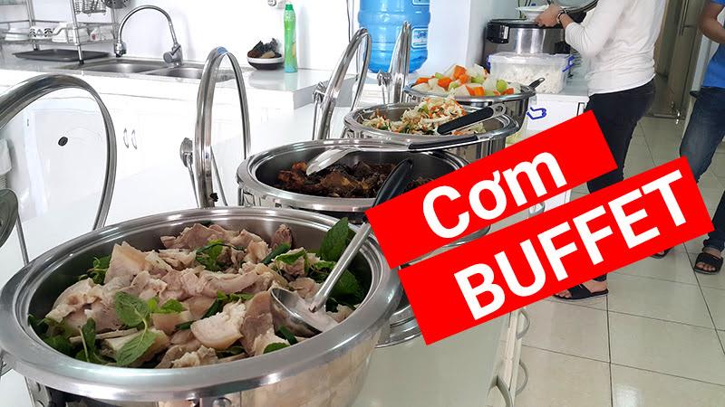 Buffet - Hình thức cung cấp cơm tận nơi đang được ưa chuộng ở Biên Hoà